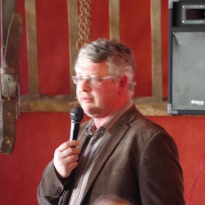 Marc Lefebvre, le 27 mars 2014