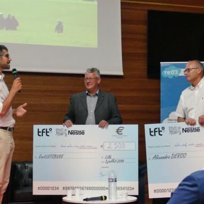 Cheque TFT/Nestlé Lille